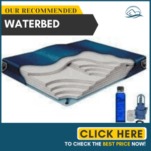 California King Waveless Waterbed Mattress 72w x 84L Boyd Comfort Supreme with a Fill Kit & a 4oz Bottle of Premium Clear Bottle Conditioner
