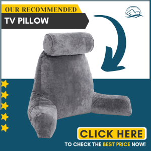 Husband Pillow - Dark Grey, Big Backrest Reading Bed Rest Pillow with Arms, Plush Memory Foam Fill, Remove Neck Roll Off Bungee, Change Covers, Zipper On...