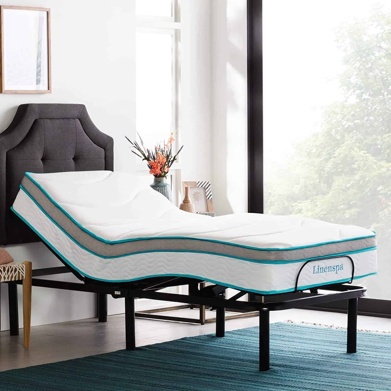 Linenspa Adjustable Bed Base
