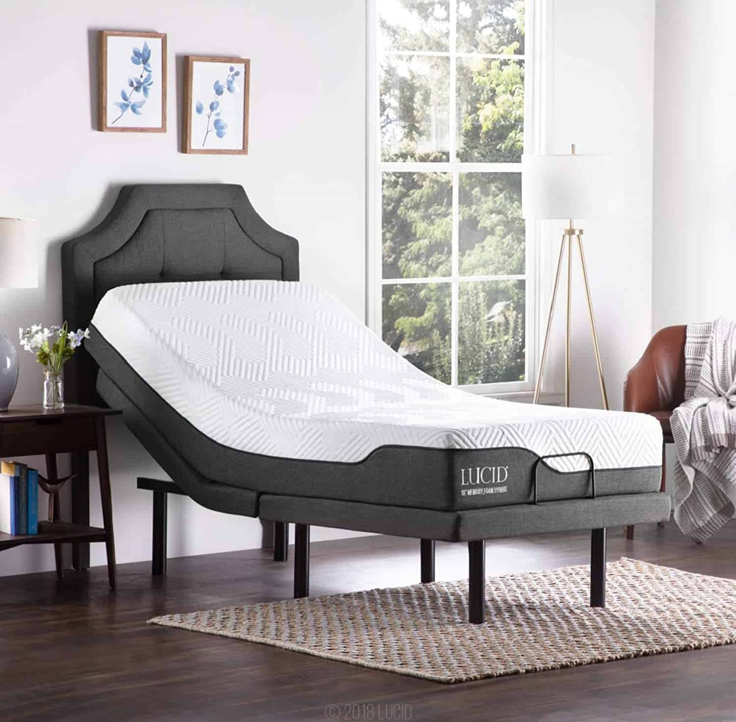 Lucid L300 Adjustable Bed