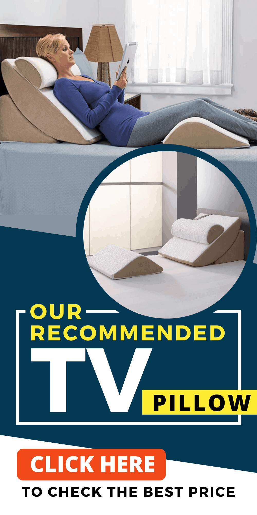 Recommended TV Pillow - Click here to check the best price!