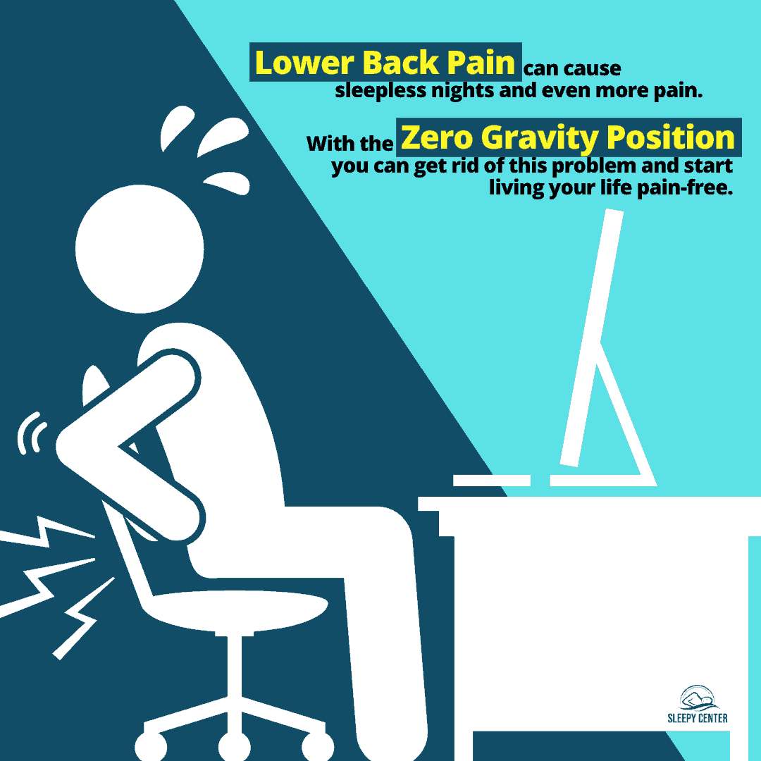 Zero Gavity Position - Lower Back Pain